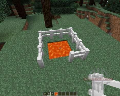 Iron Fence [1.7.2] pour Minecraft