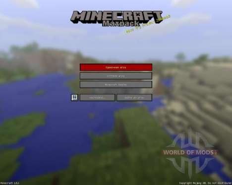 MaxPack Legacy [16x][1.8.1] für Minecraft