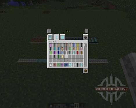 Expanded Rails [1.7.2] pour Minecraft