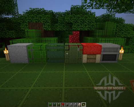 Aarons Stitch Up [64x][1.8.1] pour Minecraft