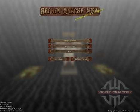Broken Anachronism [64x][1.7.2] pour Minecraft