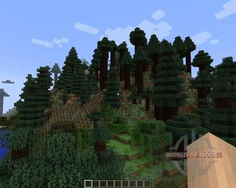 Alternate Terrain Generation [1.7.2] für Minecraft