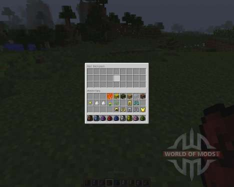 Backpacks [1.7.2] pour Minecraft