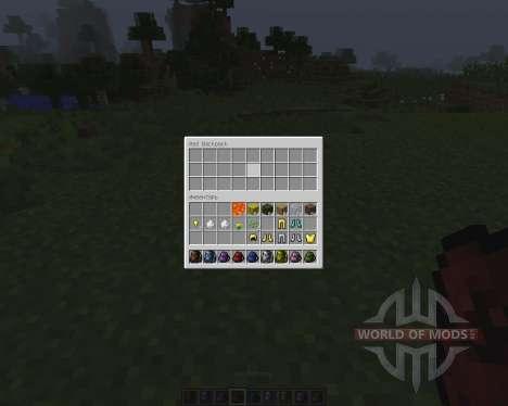Backpacks [1.7.2] für Minecraft