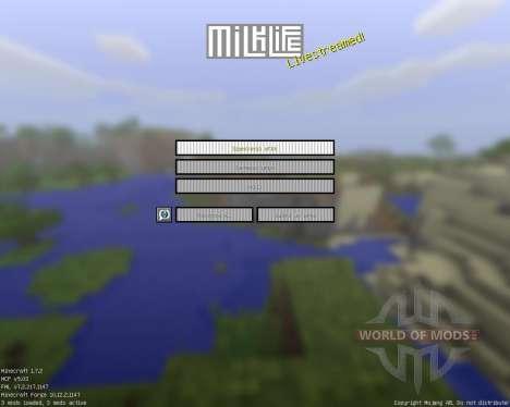 Milk Life [16x][1.7.2] für Minecraft