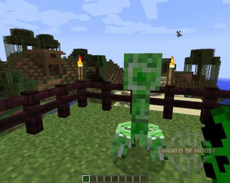 Stalker Creepers [1.7.2] pour Minecraft