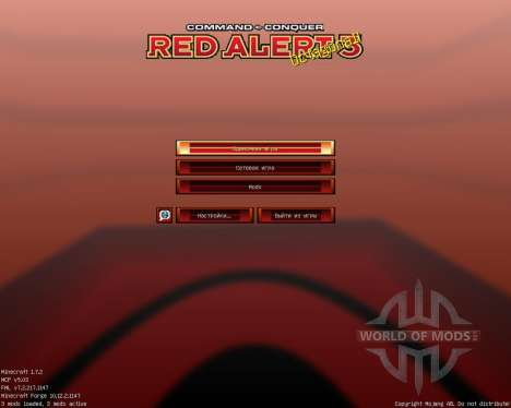 Red Alert 3 [32x][1.7.2] pour Minecraft