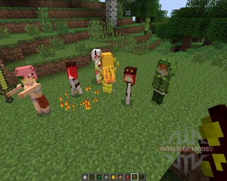 Cute Mob Models [1.7.2] pour Minecraft