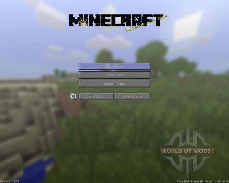 SaraCraft [64х][1.8.1] für Minecraft