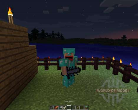 Cyan Warrior Swords [1.6.2] pour Minecraft