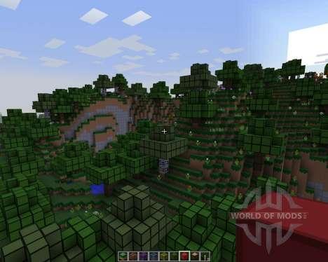 RedPack [16x][1.7.2] pour Minecraft