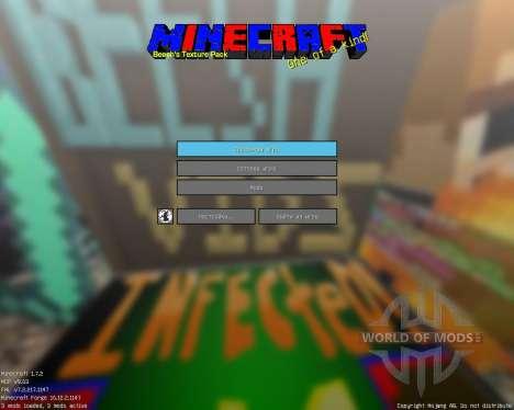 Beesh T [32x][1.7.2] pour Minecraft