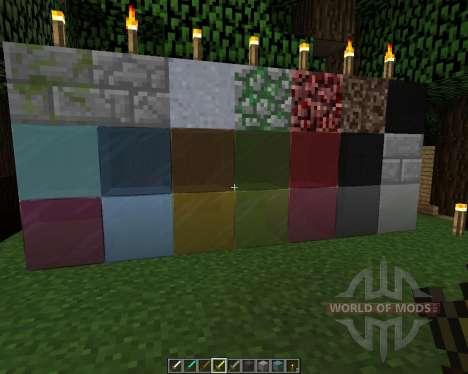 Orné de 5 Re-ressuscité [64х][1.8.1] pour Minecraft