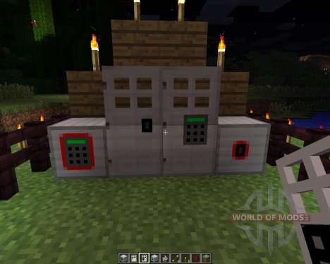 Key and Code Lock [1.6.2] pour Minecraft