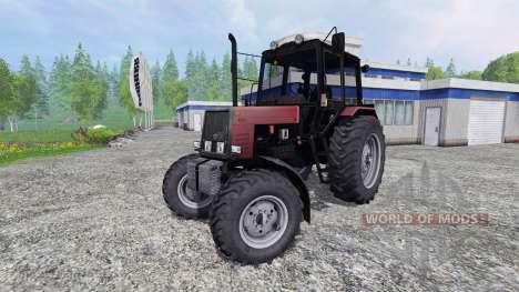 MTZ-Biélorussie 1025 v2.0 [rouge] pour Farming Simulator 2015
