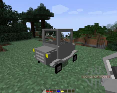 Cars and Drives [1.7.2] pour Minecraft