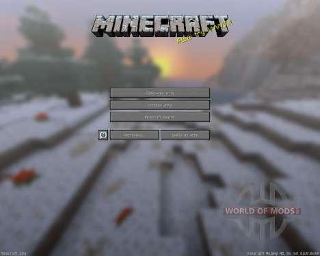 Lithos:Weihnachten Add-on [32х][1.8.1] für Minecraft
