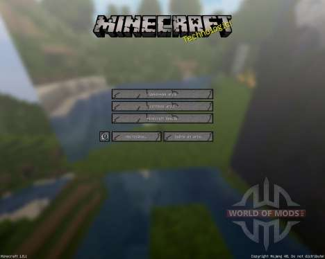 MineHD [256x][1.8.1] pour Minecraft