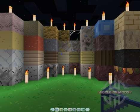 Feuer-Blatt [16х][1.8.1] für Minecraft