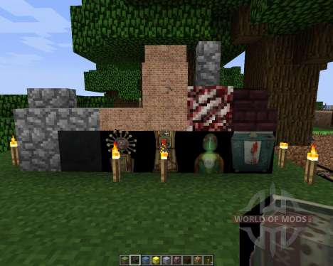 Black ops zombies texture pack [64x][1.7.2] pour Minecraft