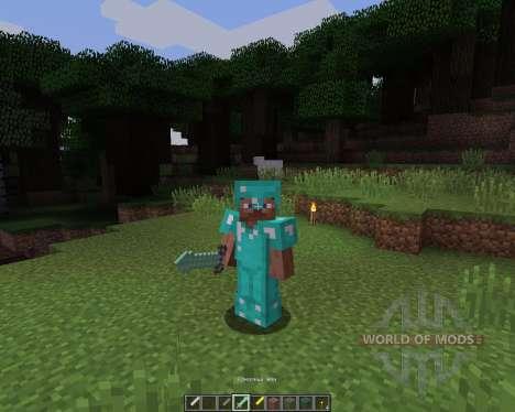 Gardenhead: La Légende [16х][1.8.1] pour Minecraft