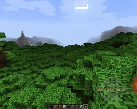 NoDetailsButColorful [16х][1.8.1] pour Minecraft