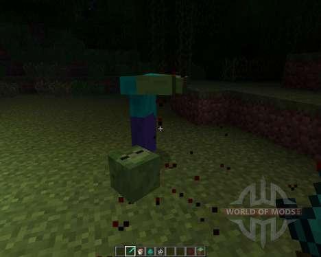 Mob Amputation [1.6.2] für Minecraft