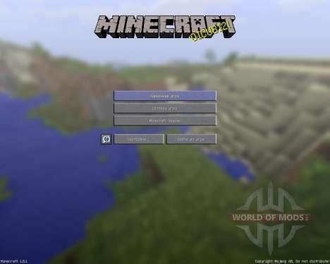 Détaillée de Réalisme [128х][1.8.1] pour Minecraft