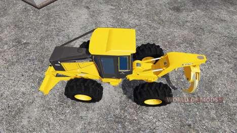 John Deere 648G v1.1 pour Farming Simulator 2015