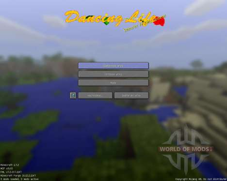 Dancing Life [16x][1.7.2] pour Minecraft