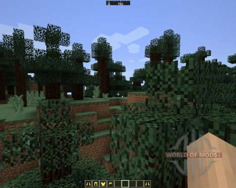 DirectionHUD [1.7.2] für Minecraft