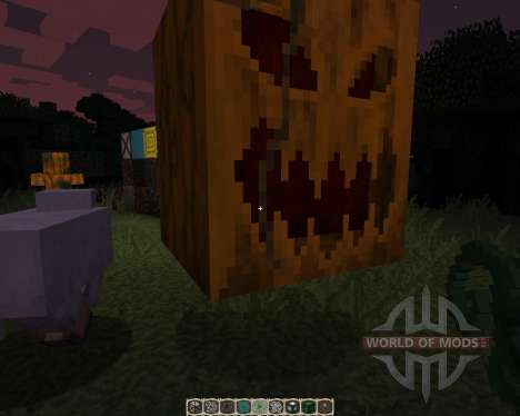Pumpkin Patch [32x][1.8.1] pour Minecraft
