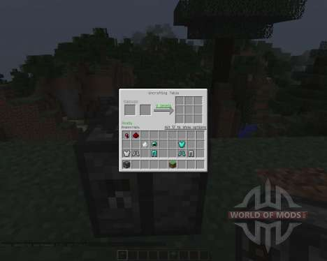 Uncrafting Table [1.7.2] pour Minecraft