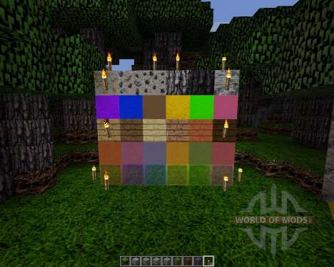 Realistic Textures [64x][1.8.1] pour Minecraft