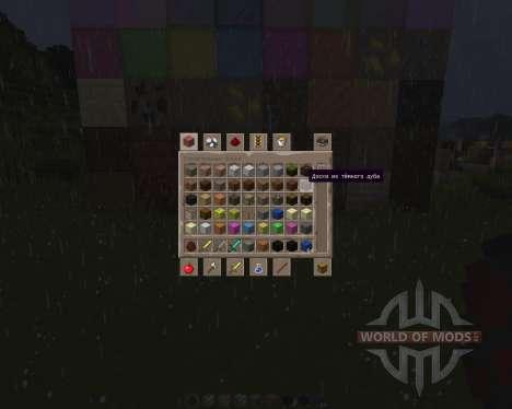 Rustics 128x [128x][1.8.1] für Minecraft