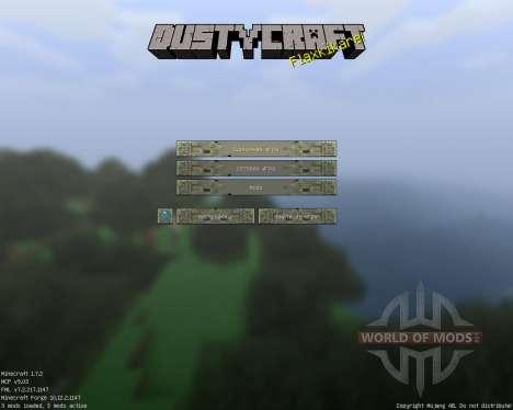 Dusty Craft [64x][1.7.2] für Minecraft