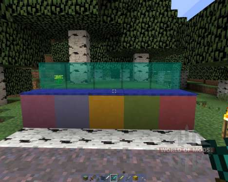 A15 Texture Pack Clear glass [16x][1.8.1] pour Minecraft