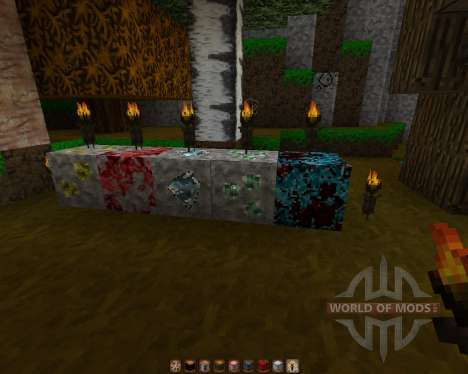 Motay Autumn [32x][1.7.2] pour Minecraft