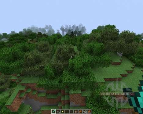 Better Foliage [1.7.2] pour Minecraft