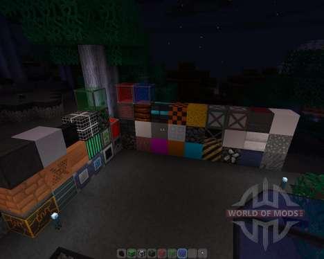 Un Nouveau Monde [16х][1.8.1] pour Minecraft