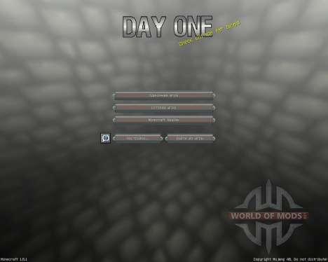 Day One [16x][1.8.1] für Minecraft