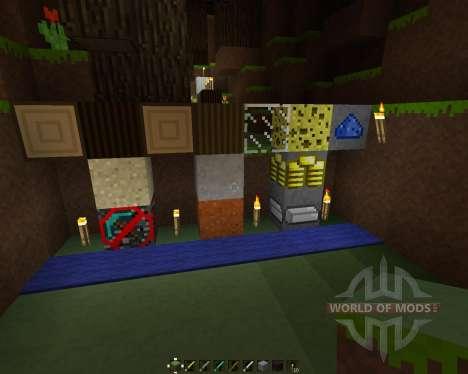 MineOrYoursCraft [16x][1.7.2] pour Minecraft