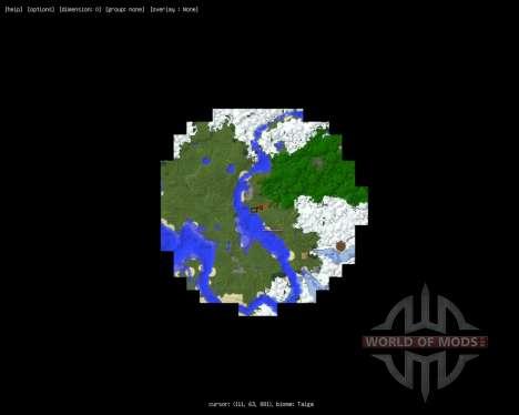 MapWriter [1.6.2] für Minecraft