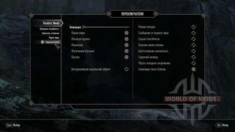 Realistisch Bedürfnisse und Krankheiten [1.9.9] für Skyrim fünften Screenshot