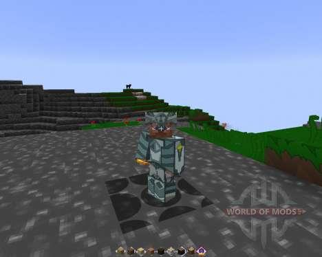SELTSAME HANDWERK [128х][1.8.1] für Minecraft