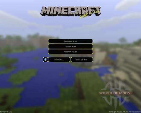 Nates de Vacances [16х][1.8.1] pour Minecraft