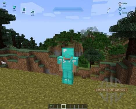 Halo HUD [1.7.2] pour Minecraft