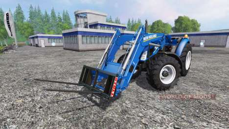 New Holland T4.75 garden edition v3.0 pour Farming Simulator 2015