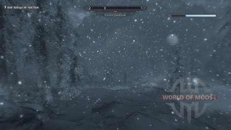 Freeze - Rettung in das Lager [2.6] für Skyrim sechsten Screenshot