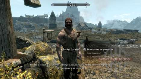 Vilja in Skyrim [4.01] für das dritte Skyrim-Screenshot